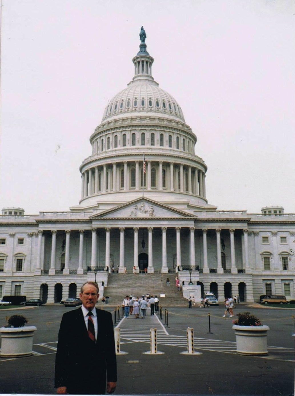 Image of Charles in Washington.