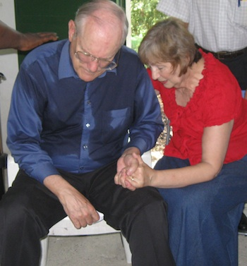 Image of Charles and Judy in Panama.