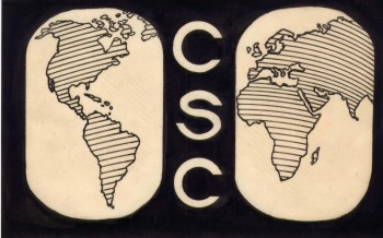 Image of the Christians Sharing Christ logo circa 1969.