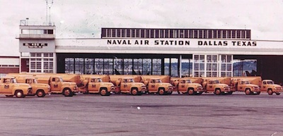 Moore Services refueling trucks for U.S. Navy.