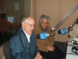 Radio Interview in Lima, Peru