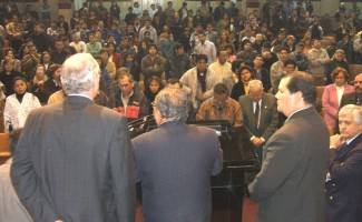 More than 500 at Lima, Peru Seminar