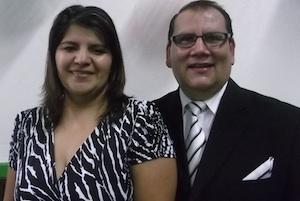 Image of Rigo and wife, Laura